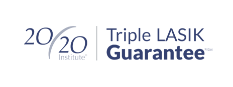 triple lasik guarantee fro 20/20 Institute denver lasik provider
